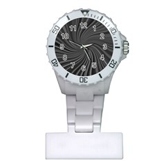 Abstract Art Color Design Lines Plastic Nurses Watch