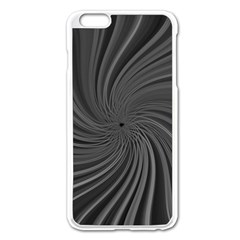 Abstract Art Color Design Lines Apple Iphone 6 Plus/6s Plus Enamel White Case
