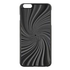 Abstract Art Color Design Lines Apple Iphone 6 Plus/6s Plus Black Enamel Case by Nexatart