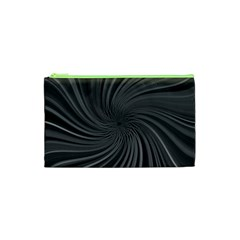 Abstract Art Color Design Lines Cosmetic Bag (xs) by Nexatart
