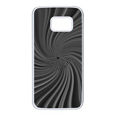 Abstract Art Color Design Lines Samsung Galaxy S7 White Seamless Case by Nexatart