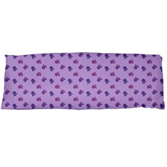 Pattern Background Violet Flowers Body Pillow Case (dakimakura)
