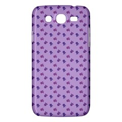 Pattern Background Violet Flowers Samsung Galaxy Mega 5 8 I9152 Hardshell Case  by Nexatart
