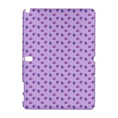 Pattern Background Violet Flowers Galaxy Note 1