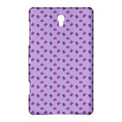 Pattern Background Violet Flowers Samsung Galaxy Tab S (8 4 ) Hardshell Case