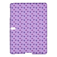 Pattern Background Violet Flowers Samsung Galaxy Tab S (10 5 ) Hardshell Case  by Nexatart