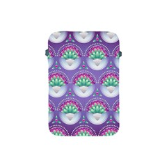 Background Floral Pattern Purple Apple Ipad Mini Protective Soft Cases by Nexatart