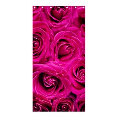 Pink Roses Roses Background Shower Curtain 36  X 72  (stall)  by Nexatart