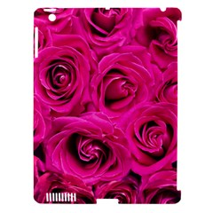Pink Roses Roses Background Apple Ipad 3/4 Hardshell Case (compatible With Smart Cover)