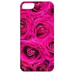 Pink Roses Roses Background Apple Iphone 5 Classic Hardshell Case