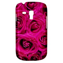 Pink Roses Roses Background Galaxy S3 Mini by Nexatart