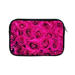 Pink Roses Roses Background Apple Ipad Mini Zipper Cases by Nexatart
