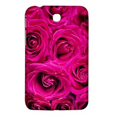 Pink Roses Roses Background Samsung Galaxy Tab 3 (7 ) P3200 Hardshell Case  by Nexatart