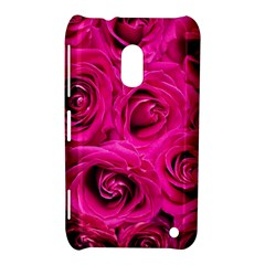 Pink Roses Roses Background Nokia Lumia 620 by Nexatart