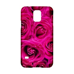Pink Roses Roses Background Samsung Galaxy S5 Hardshell Case  by Nexatart