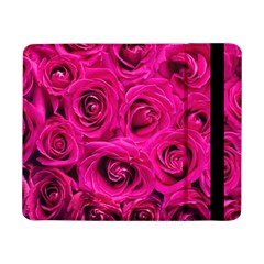 Pink Roses Roses Background Samsung Galaxy Tab Pro 8 4  Flip Case by Nexatart