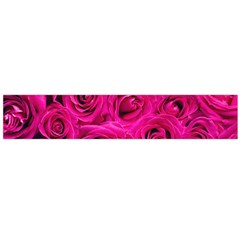 Pink Roses Roses Background Flano Scarf (large)
