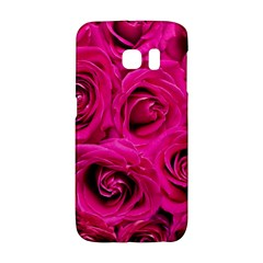 Pink Roses Roses Background Galaxy S6 Edge