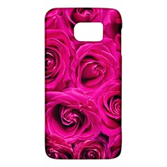 Pink Roses Roses Background Galaxy S6 by Nexatart