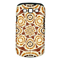 Brown And Tan Abstract Samsung Galaxy S Iii Classic Hardshell Case (pc+silicone) by linceazul