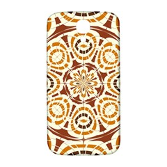 Brown And Tan Abstract Samsung Galaxy S4 I9500/i9505  Hardshell Back Case by linceazul