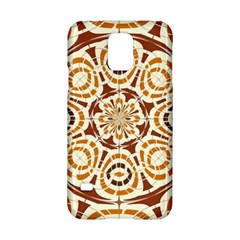 Brown And Tan Abstract Samsung Galaxy S5 Hardshell Case  by linceazul
