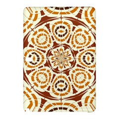 Brown And Tan Abstract Samsung Galaxy Tab Pro 10 1 Hardshell Case by linceazul