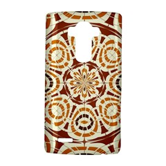 Brown And Tan Abstract Lg G4 Hardshell Case by linceazul