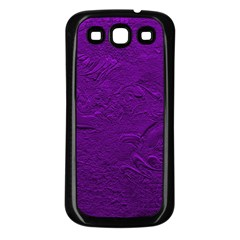 Texture Background Backgrounds Samsung Galaxy S3 Back Case (black)