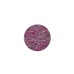 Leaves Pink Background Texture 1  Mini Magnets by Nexatart