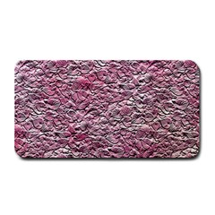 Leaves Pink Background Texture Medium Bar Mats