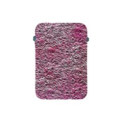 Leaves Pink Background Texture Apple Ipad Mini Protective Soft Cases by Nexatart