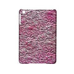 Leaves Pink Background Texture Ipad Mini 2 Hardshell Cases