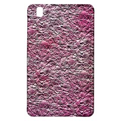 Leaves Pink Background Texture Samsung Galaxy Tab Pro 8 4 Hardshell Case