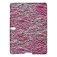 Leaves Pink Background Texture Samsung Galaxy Tab S (10 5 ) Hardshell Case  by Nexatart