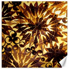 Mussels Lamp Star Pattern Canvas 16  X 16