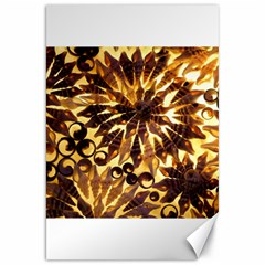 Mussels Lamp Star Pattern Canvas 20  X 30   by Nexatart