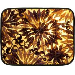 Mussels Lamp Star Pattern Fleece Blanket (mini) by Nexatart