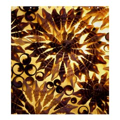 Mussels Lamp Star Pattern Shower Curtain 66  X 72  (large)  by Nexatart