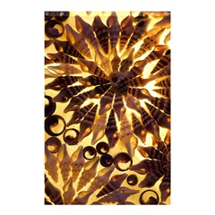 Mussels Lamp Star Pattern Shower Curtain 48  X 72  (small)  by Nexatart