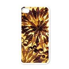 Mussels Lamp Star Pattern Apple Iphone 4 Case (white)
