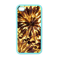 Mussels Lamp Star Pattern Apple Iphone 4 Case (color) by Nexatart