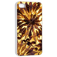 Mussels Lamp Star Pattern Apple Iphone 4/4s Seamless Case (white)
