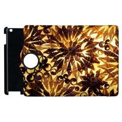 Mussels Lamp Star Pattern Apple Ipad 2 Flip 360 Case by Nexatart
