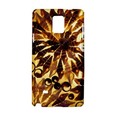Mussels Lamp Star Pattern Samsung Galaxy Note 4 Hardshell Case
