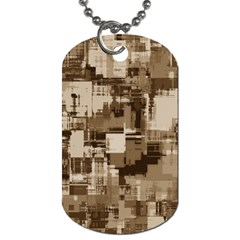 Color Abstract Background Textures Dog Tag (one Side)