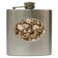 Color Abstract Background Textures Hip Flask (6 Oz) by Nexatart