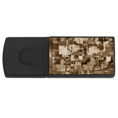 Color Abstract Background Textures Usb Flash Drive Rectangular (4 Gb)