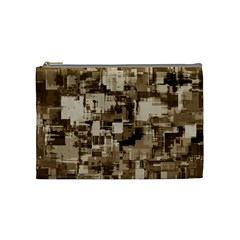 Color Abstract Background Textures Cosmetic Bag (medium)  by Nexatart