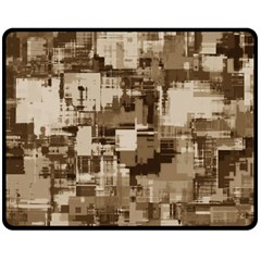 Color Abstract Background Textures Fleece Blanket (medium)